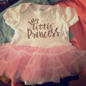 Little princess outfit 0-3 months